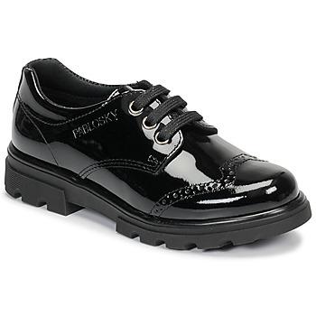 Topánky Dievčatá Derbie Pablosky 335419 Čierna