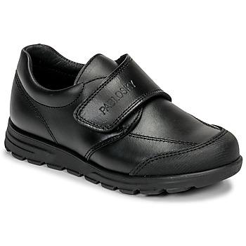 Topánky Deti Derbie Pablosky 334510 Čierna