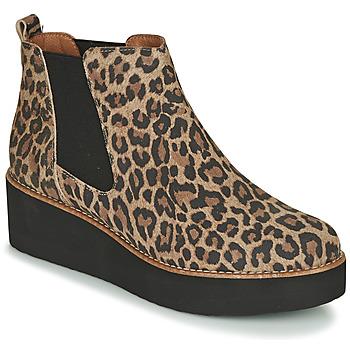 Topánky Ženy Polokozačky Fericelli LORNA Hnedá