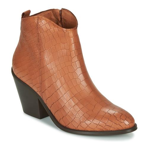 Topánky Ženy Čižmičky Fericelli LISA Hnedá