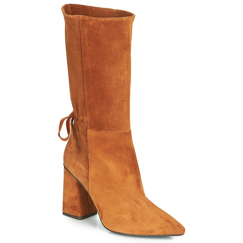 Topánky Ženy Čižmy do mesta Fericelli LUCIANA Ťavia hnedá