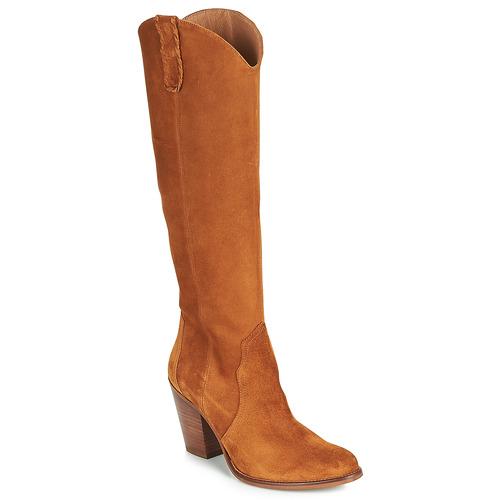 Topánky Ženy Čižmy do mesta Fericelli LUNIPIOLLE Ťavia hnedá