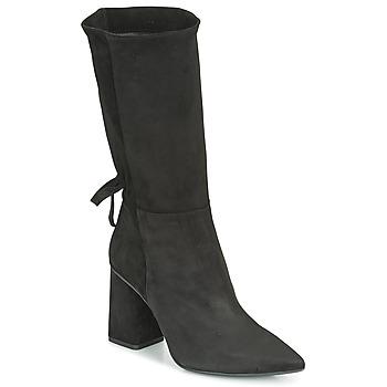 Topánky Ženy Čižmy do mesta Fericelli LUCIANA Čierna