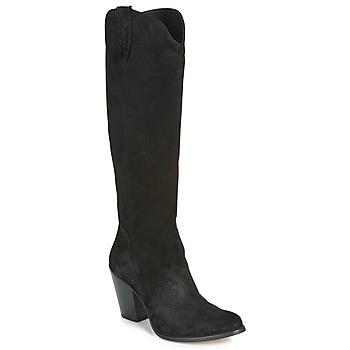 Topánky Ženy Čižmy do mesta Fericelli LUNIPIOLLE Čierna