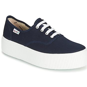 Topánky Ženy Nízke tenisky Victoria 1915 DOBLE LONA Námornícka modrá