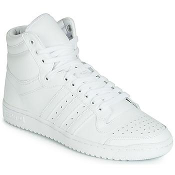 Topánky Muži Členkové tenisky adidas Originals TOP TEN HI Biela