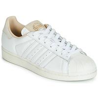 Topánky Nízke tenisky adidas Originals SUPERSTAR Biela / Béžová