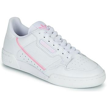 Topánky Ženy Nízke tenisky adidas Originals CONTINENTAL 80 W Biela / Ružová