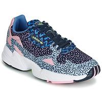 Topánky Ženy Nízke tenisky adidas Originals FALCON W Modrá / Ružová