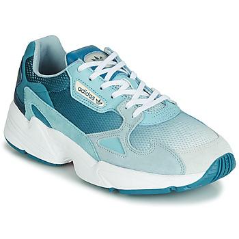 Topánky Ženy Nízke tenisky adidas Originals FALCON W Modrá