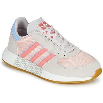 Topánky Ženy Nízke tenisky adidas Originals MARATHON TECH W Šedá / Ružová