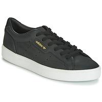 Topánky Ženy Nízke tenisky adidas Originals SLEEK W Čierna