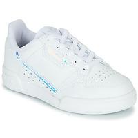 Topánky Deti Nízke tenisky adidas Originals CONTINENTAL 80 C Biela / Modrá