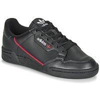 Topánky Deti Nízke tenisky adidas Originals CONTINENTAL 80 J Čierna