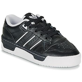 Topánky Deti Nízke tenisky adidas Originals RIVALRY LOW J Čierna