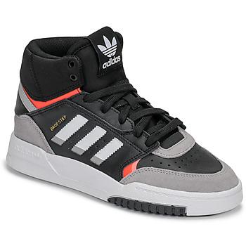 Topánky Chlapci Nízke tenisky adidas Originals DROP STEP J Čierna / Šedá