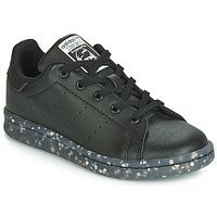 Topánky Deti Nízke tenisky adidas Originals STAN SMITH C Čierna