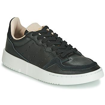 Topánky Deti Nízke tenisky adidas Originals SUPERCOURT J Čierna