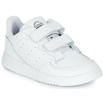 Topánky Deti Nízke tenisky adidas Originals SUPERCOURT CF I Biela