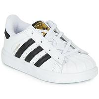 Topánky Deti Nízke tenisky adidas Originals SUPERSTAR I Biela / Čierna