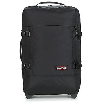 Tašky Pružné cestovné kufre Eastpak TRANVERZ S Čierna