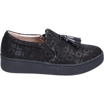 Topánky Ženy Slip-on Uma Parker BR54 Čierna