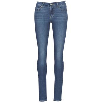 Oblečenie Ženy Džínsy Skinny Levi's 711 SKINNY It / Zlatá