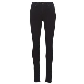 Oblečenie Ženy Džínsy Skinny Levi's 721 HIGH RISE SKINNY Čierna