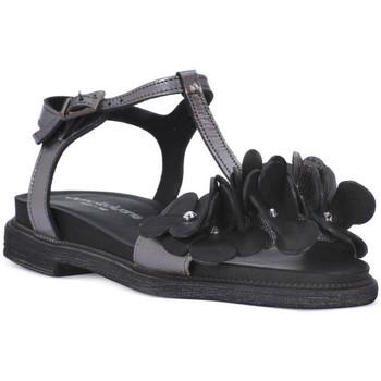 Topánky Ženy Sandále Sono Italiana NERO LAMINATO Nero
