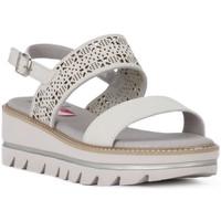 Topánky Ženy Sandále CallagHan GREIGE LONG BEACH Grigio
