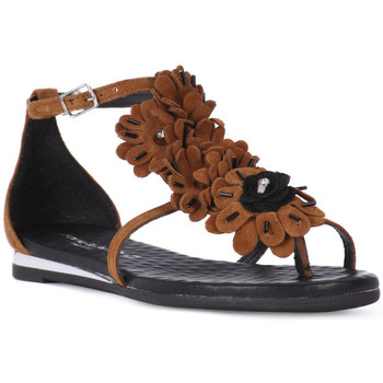 Topánky Ženy Sandále Fluchos SONO ITALIANA CROSTA CUIO Nero