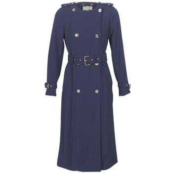 Oblečenie Ženy Kabátiky Trenchcoat MICHAEL Michael Kors COLLARLESS TRENCH Námornícka modrá