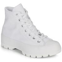 Topánky Ženy Členkové tenisky Converse CHUCK TAYLOR ALL STAR LUGGED - HI Biela