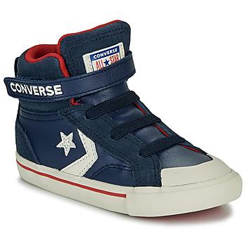 Topánky Deti Členkové tenisky Converse PRO BLAZE STRAP - HI Námornícka modrá