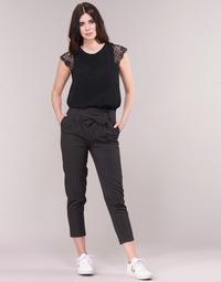 Oblečenie Ženy Nohavice päťvreckové Betty London LAALIA Čierna / Biela
