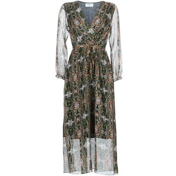 Oblečenie Ženy Dlhé šaty Betty London LILIE-ROSE Zelená / Viacfarebná