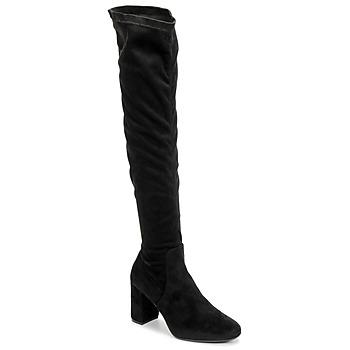 Topánky Ženy Cizmy Nad Kolenà Betty London LAHNA Čierna