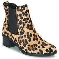 Topánky Ženy Čižmičky Betty London HASNI Leopard