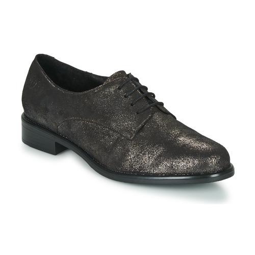 Topánky Ženy Derbie Betty London CAXO Čierna