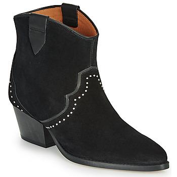 Topánky Ženy Čižmičky Betty London LOUELLA Čierna
