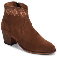 Topánky Ženy Čižmičky Betty London LAURE-ELISE Ťavia hnedá