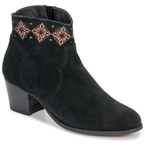 Topánky Ženy Čižmičky Betty London LAURE-ELISE Čierna