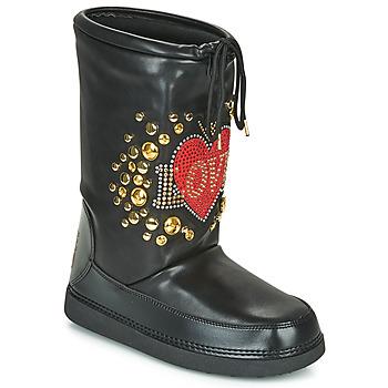 Topánky Ženy Snehule  Love Moschino SKI BOOT Čierna