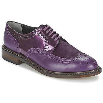 Topánky Ženy Derbie Robert Clergerie ROEL Fialová