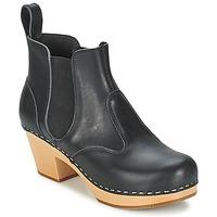 Topánky Ženy Čižmičky Swedish hasbeens CHELSEA čierna