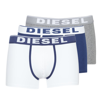 Spodná bielizeň Muži Boxerky Diesel DAMIEN Biela / Námornícka modrá / Šedá