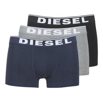 Spodná bielizeň Muži Boxerky Diesel DAMIEN Šedá / Námornícka modrá / Čierna