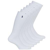 Doplnky Muži Ponožky Polo Ralph Lauren ASX110 6PK CR PP-CREW-6 PACK Biela