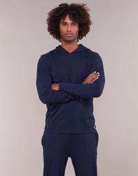 Oblečenie Muži Mikiny Polo Ralph Lauren L/S HOODIE-HOODIE-SLEEP TOP Námornícka modrá