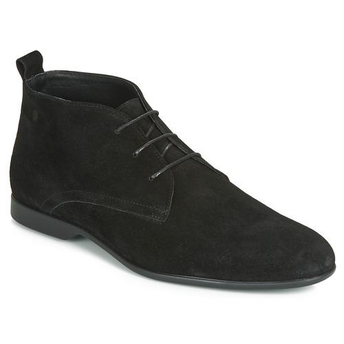 Topánky Muži Polokozačky Carlington EONARD Čierna